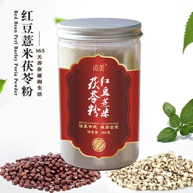 红豆薏米茯苓粉