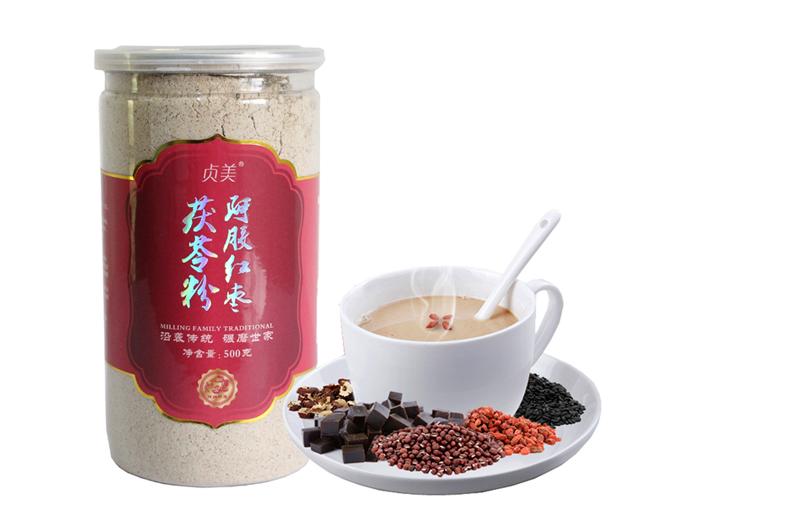 阿胶红枣茯苓粉